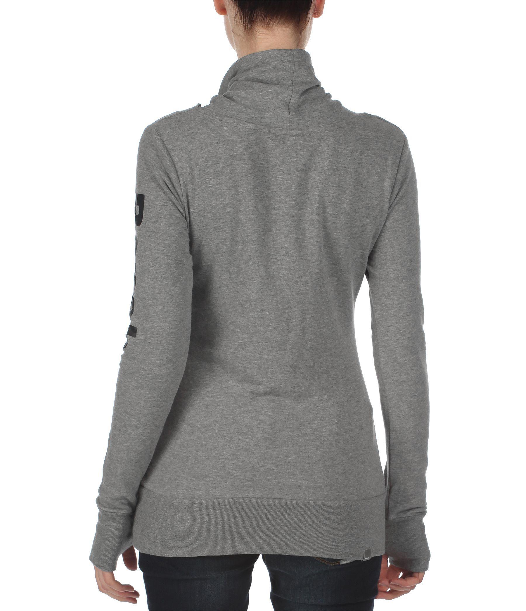 Bench Inclu Ii Cowl Neck Overhead Sweatshirt In Gray Light Grey Lyst
