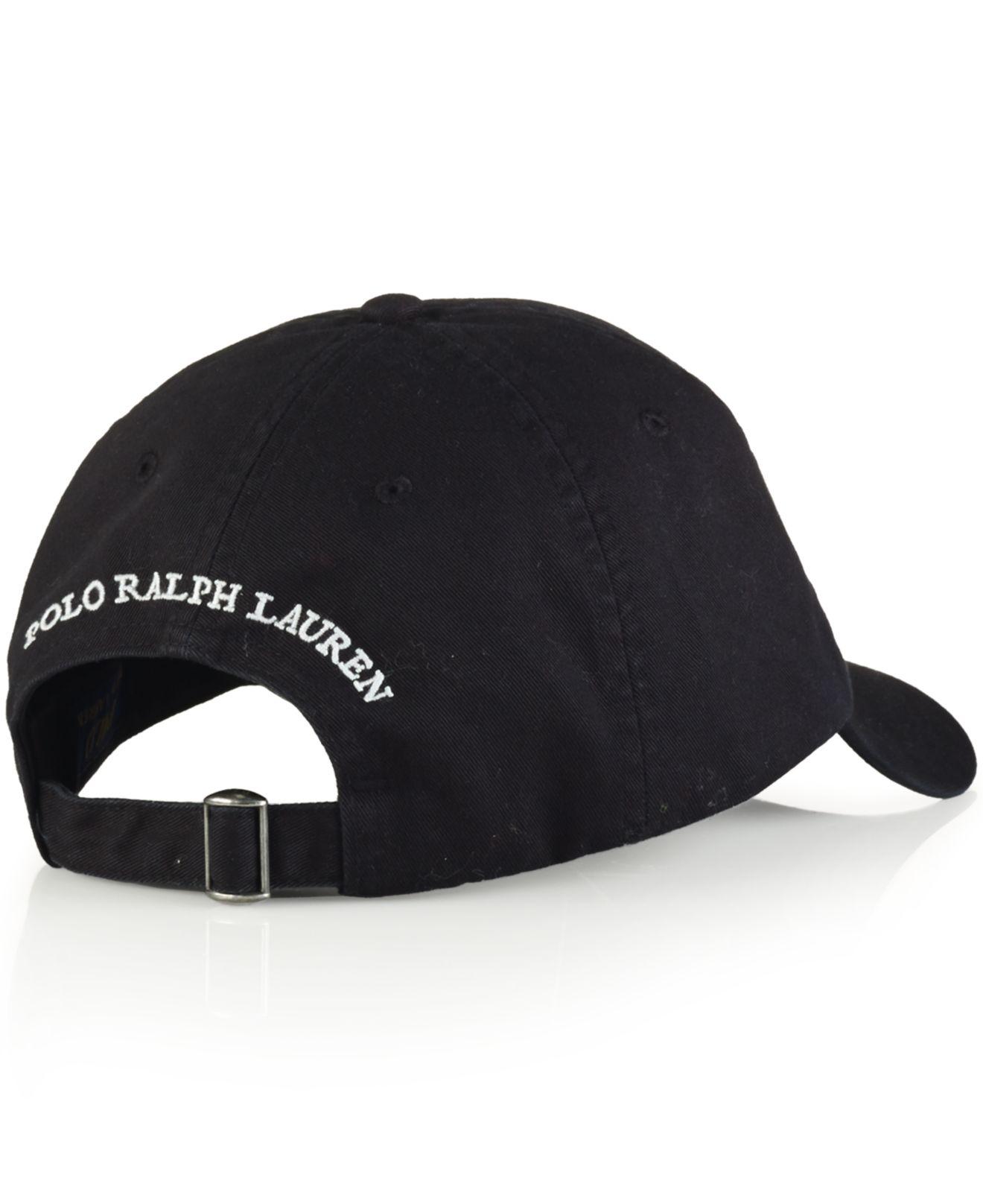 Lyst - Polo Ralph Lauren Polo Bear Chino Baseball Cap - Athlete Bear ... d4ddab944113