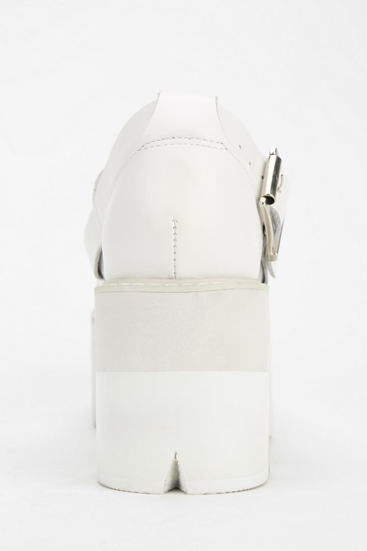 Jeffrey Argo Lyst Platform Campbell White New In Sandal Fisherman SGqUzpVM