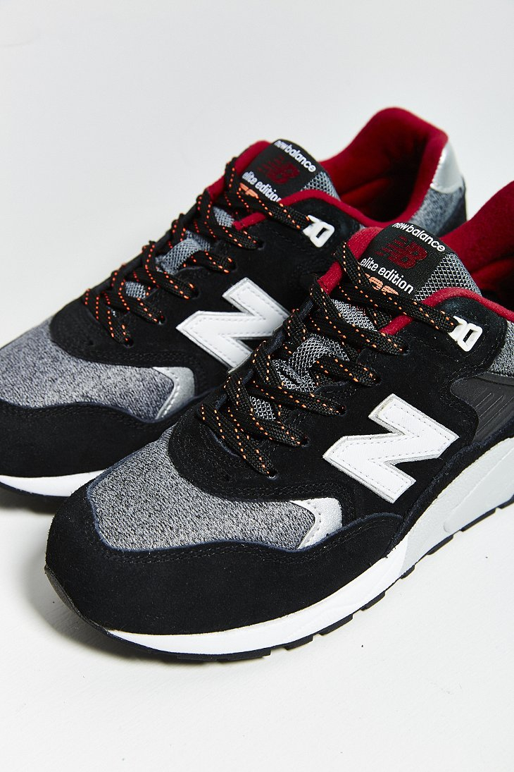 huge selection of 04f89 6e0cf New Balance 580 Tomboy Running Sneaker in Black - Lyst
