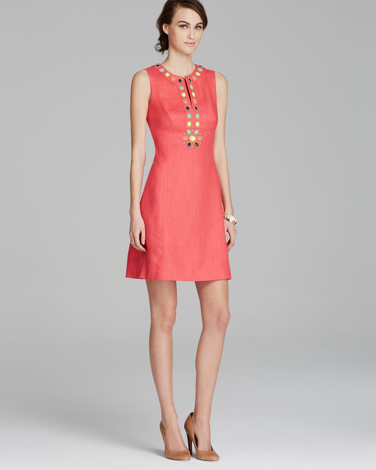 Lyst Kate Spade New York Edith Dress In Pink