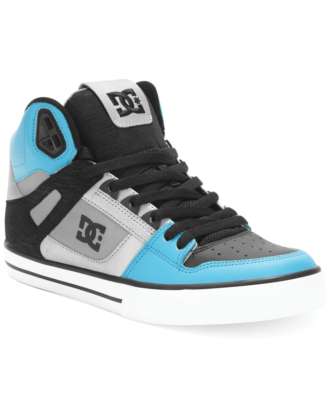 00bf079b006 DC Shoes Blue Spartan High Wc Sneakers for men
