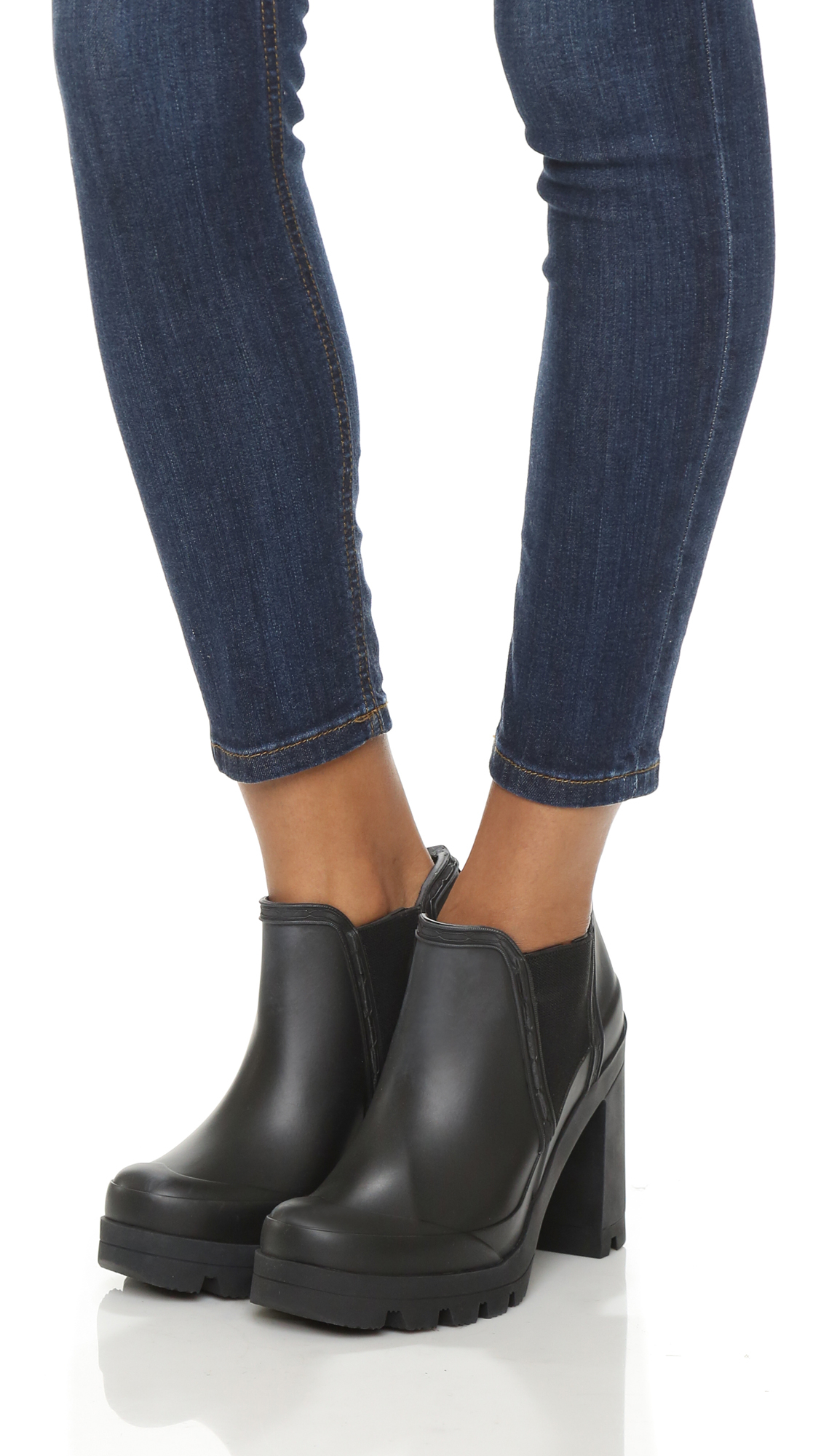 8e7762b35 HUNTER Original High Heel Shoes - Black in Black - Lyst
