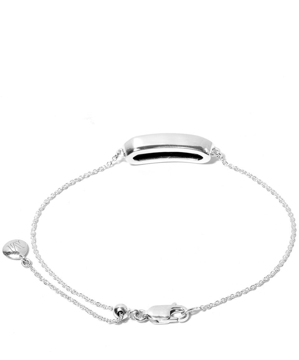 34ca31640b0ad Monica Vinader Metallic Mini Silver Hematite Baja Bracelet