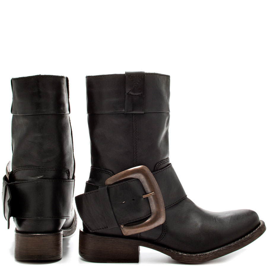 betsey johnson ariss leather ankle boots in black lyst