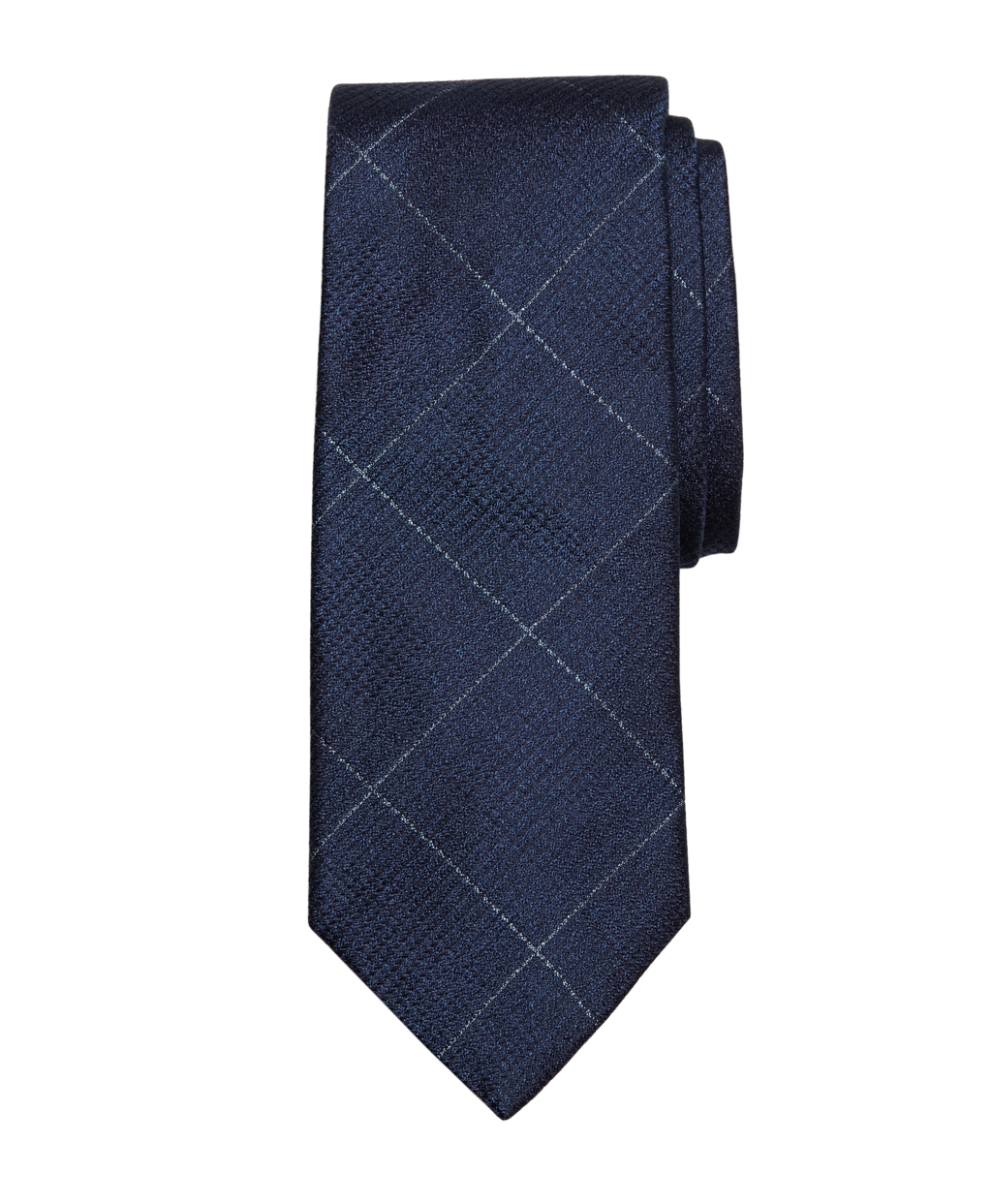 brothers glen plaid with deco tie in blue for