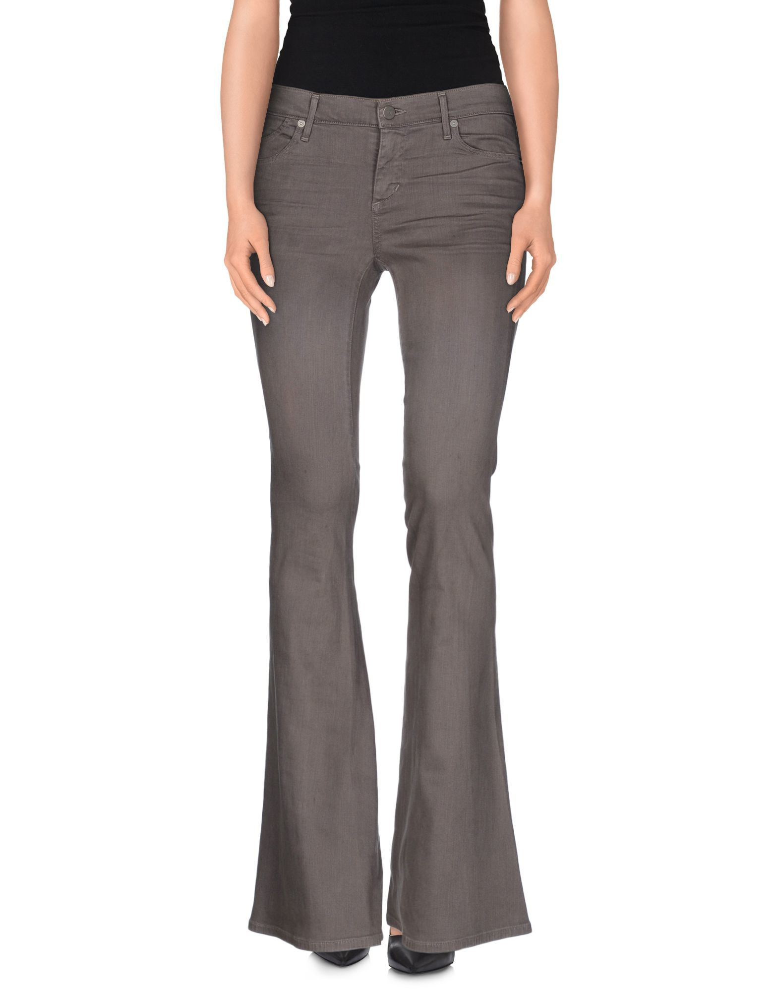 citizens of humanity denim trousers in gray lyst. Black Bedroom Furniture Sets. Home Design Ideas
