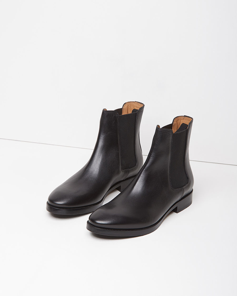 acne studios bess leather chelsea boots in black lyst. Black Bedroom Furniture Sets. Home Design Ideas