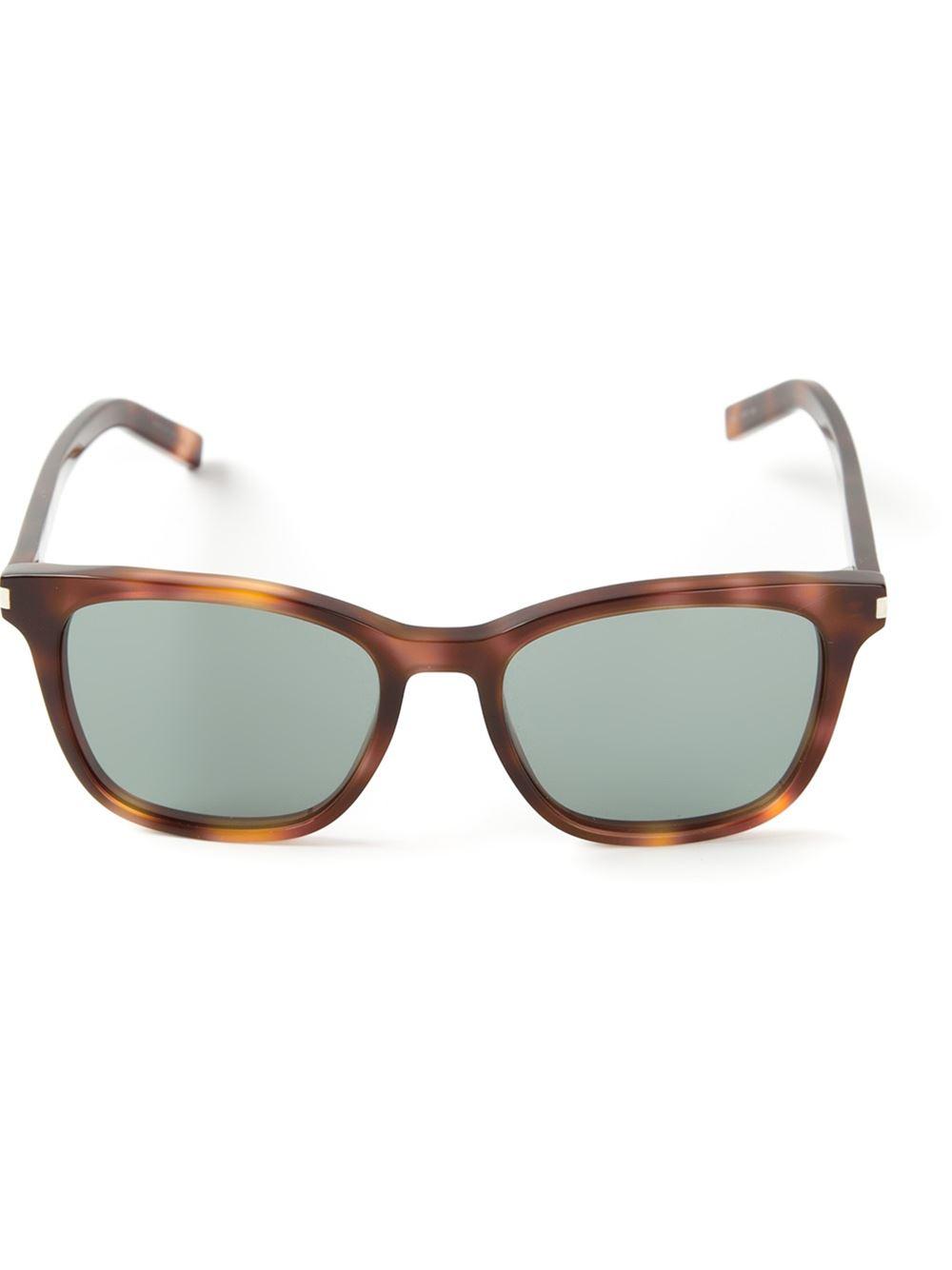 tortoiseshell sunglasses - Brown Saint Laurent Eyewear ZlOEp5R