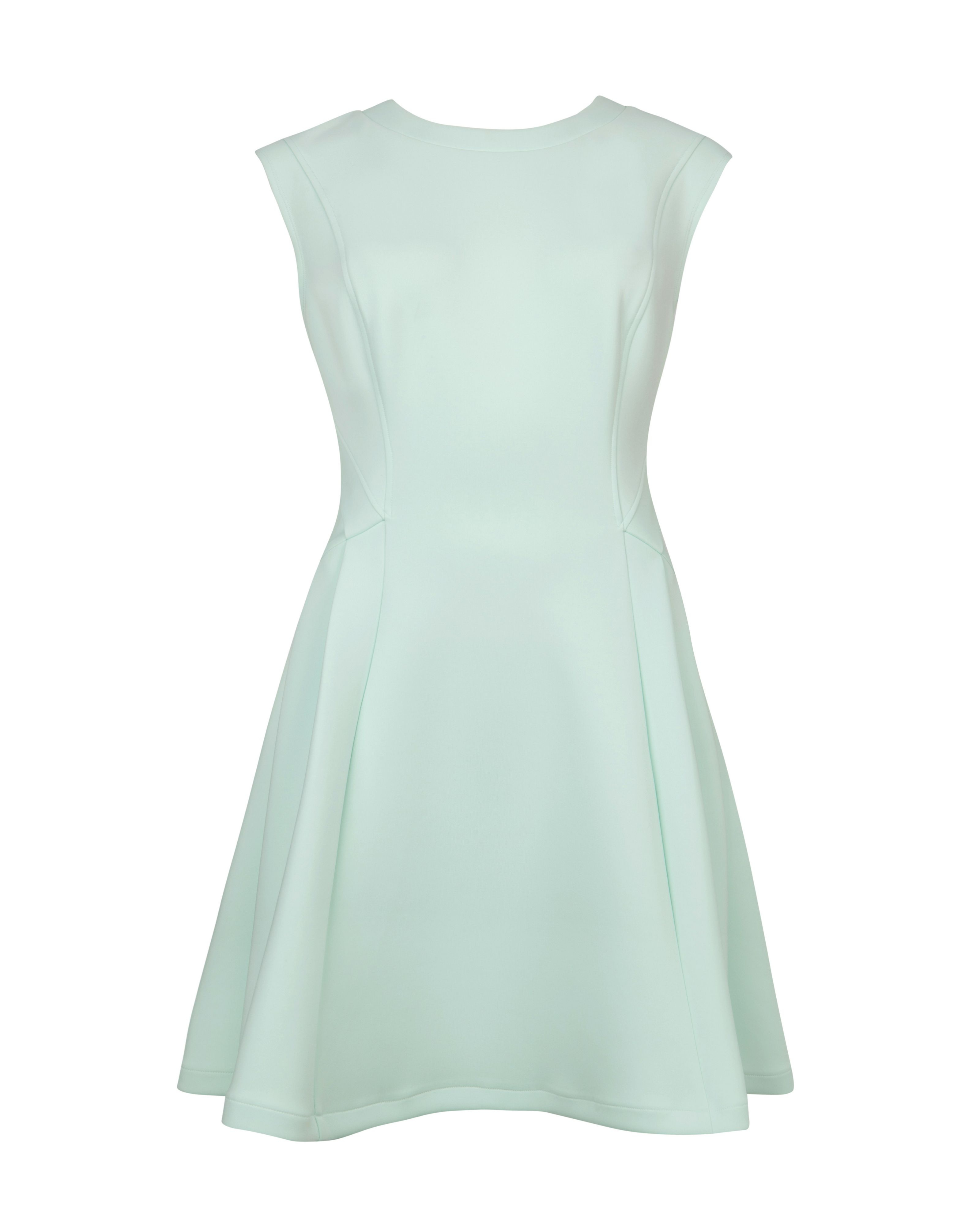 Lyst - Ted Baker Nistee Skater Dress in Green