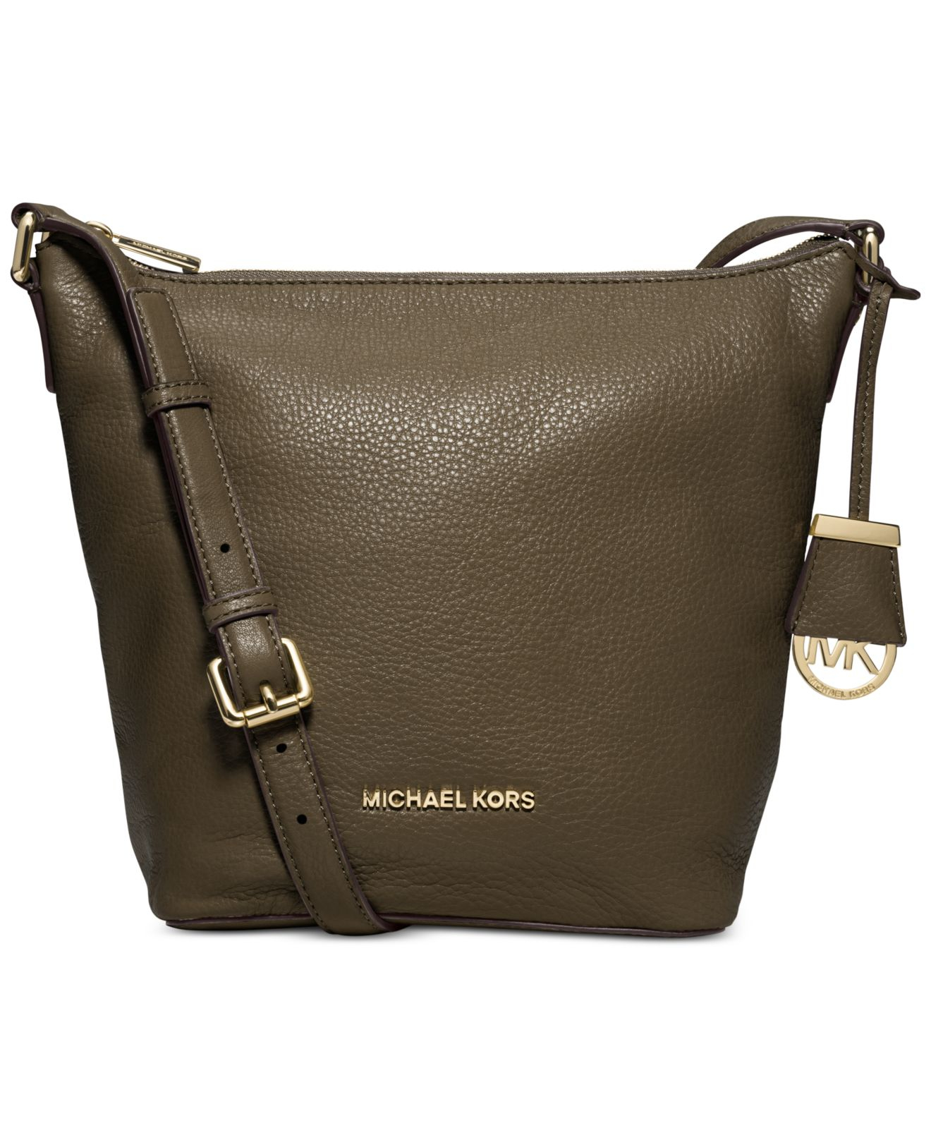 06c3249a92b3 ... Michael kors Michael Bedford Medium Messenger Bag in Green ...