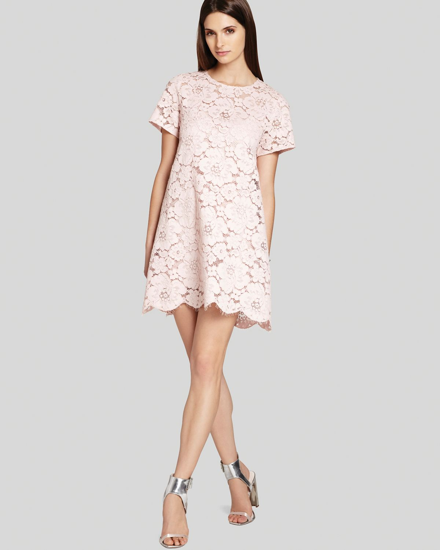 Bcbgmaxazria Bcbg Max Azria Dress Diane Oversize Lace in ...