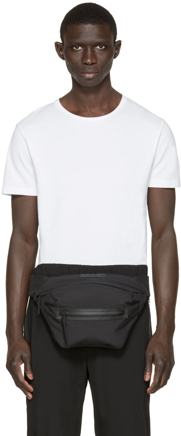 Lyst - Y-3 Black Qasa Travel Bag in Black for Men 53f05987d9225