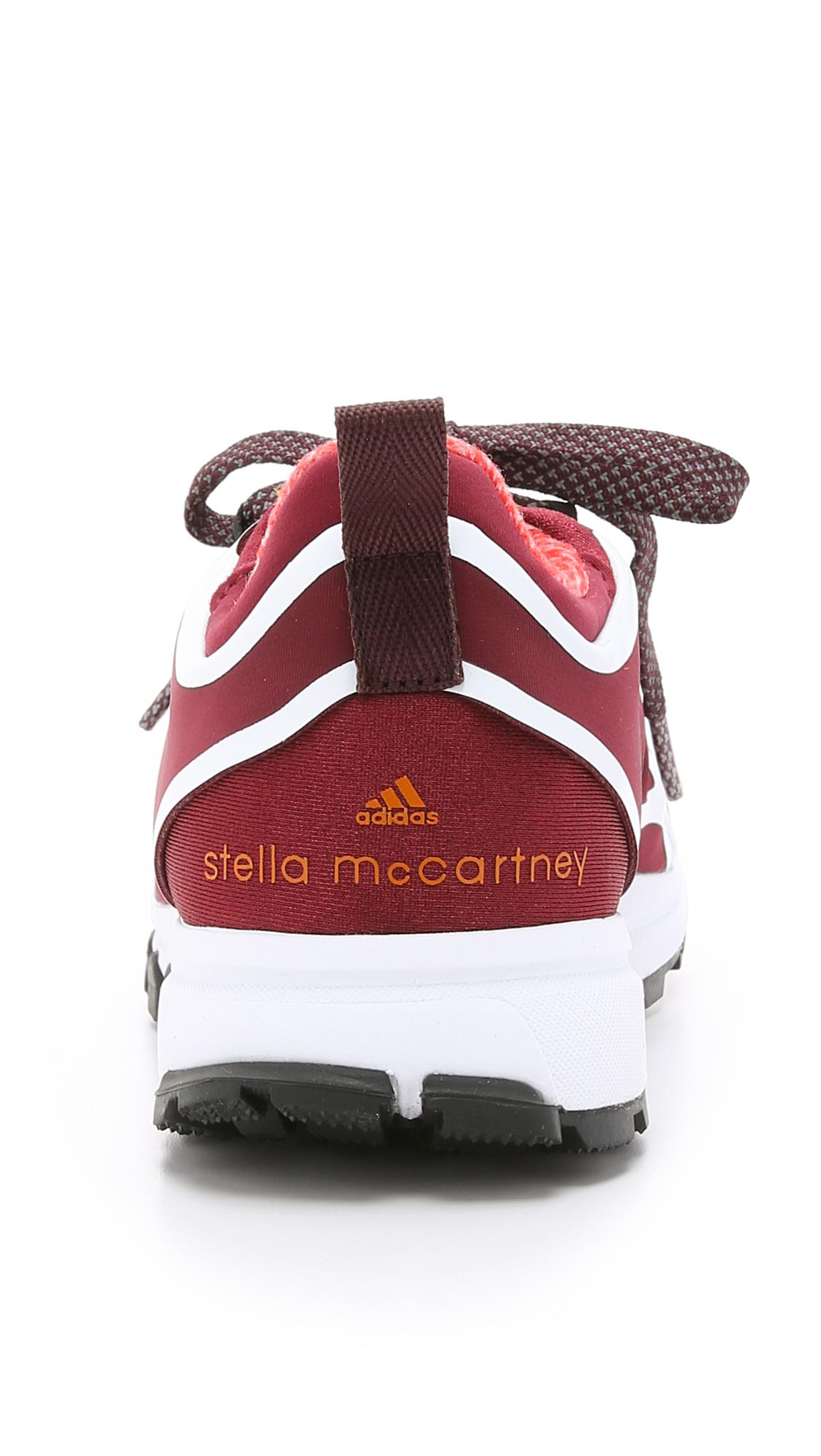 adidas By Stella McCartney Adizero Xt Sneakers - Dark Wine ... c64850882