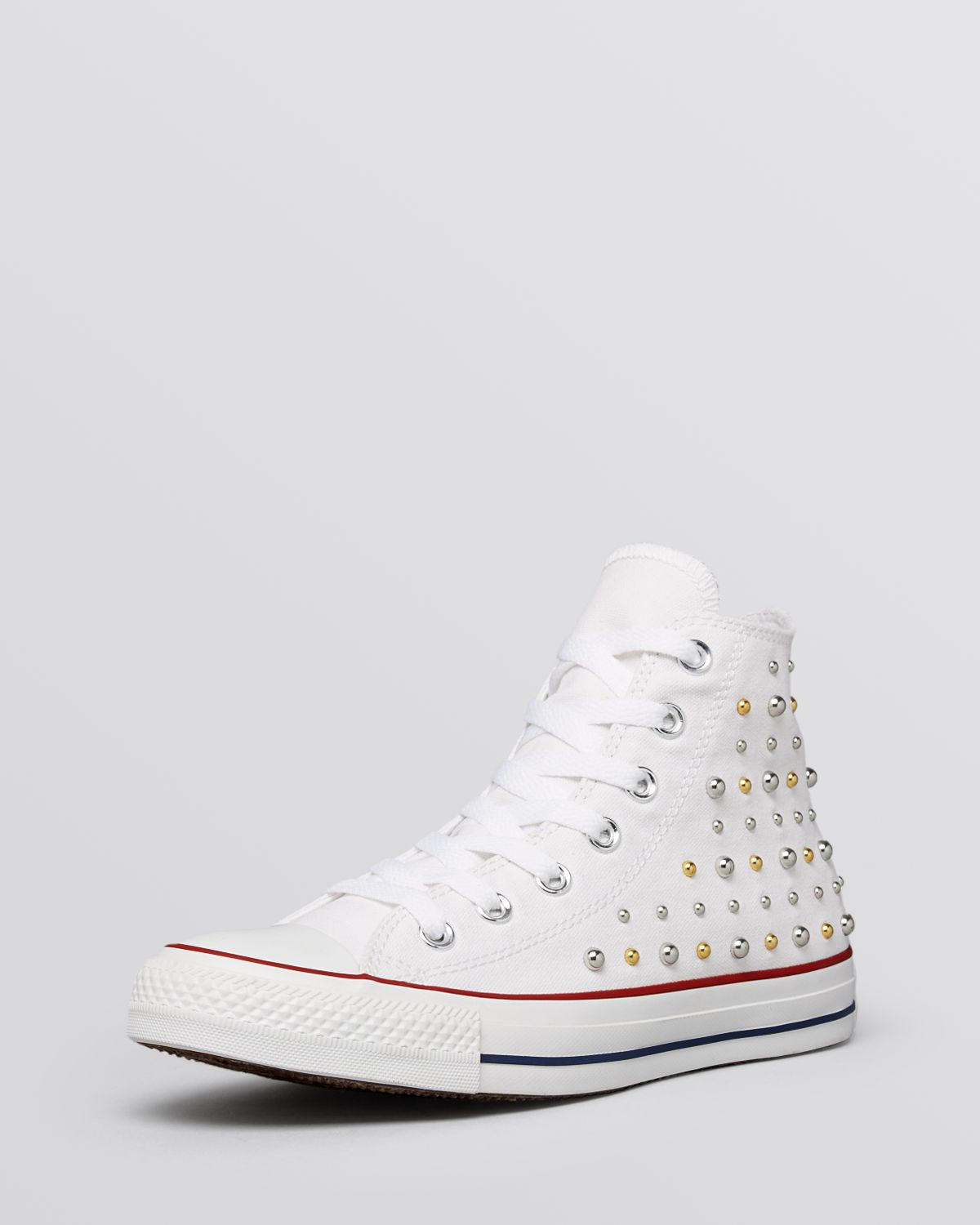 white converse studded Online Shopping