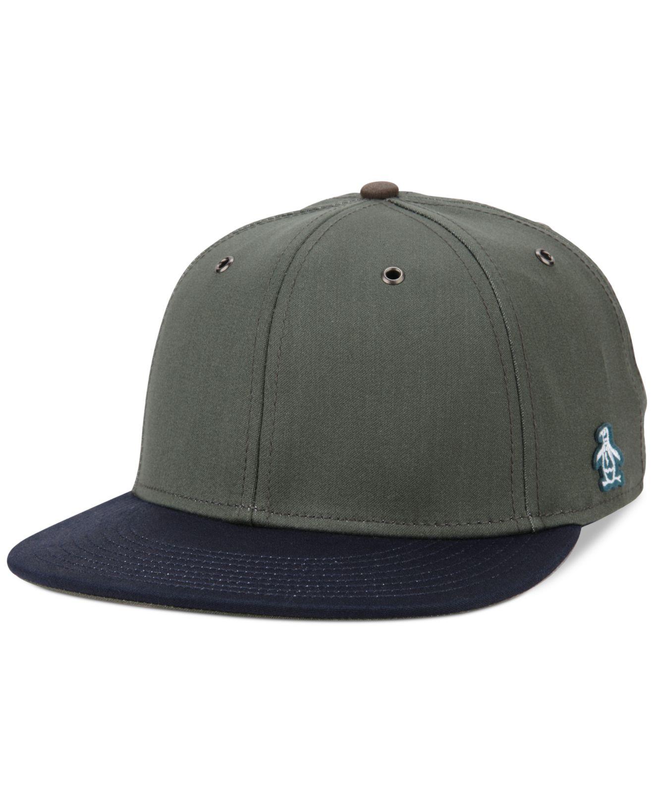 Original Penguin Dulberg Baseball Hat In Green For Men Lyst