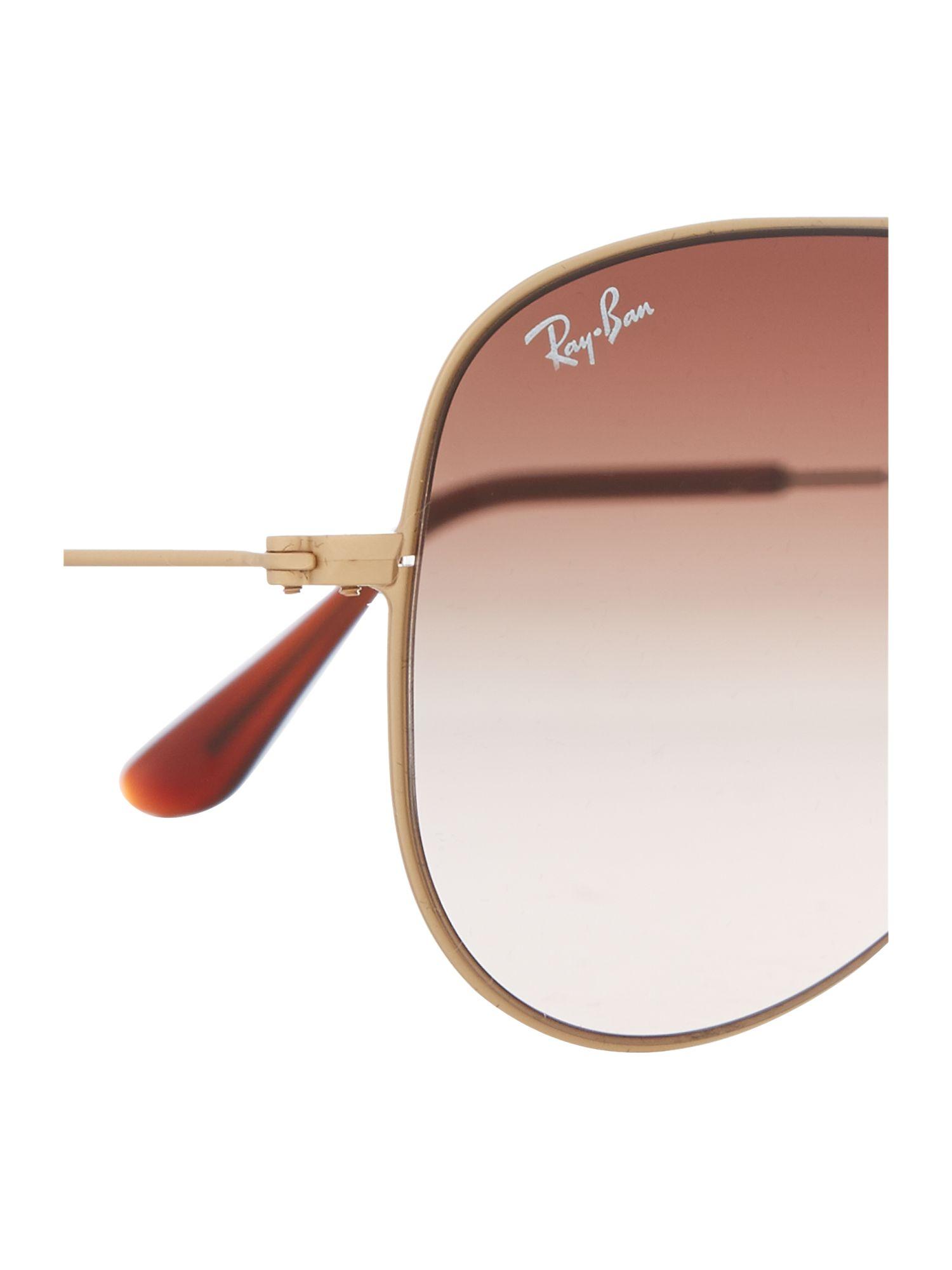 Ray-Ban Men`s Aviator Sunglasses in Metallic for Men