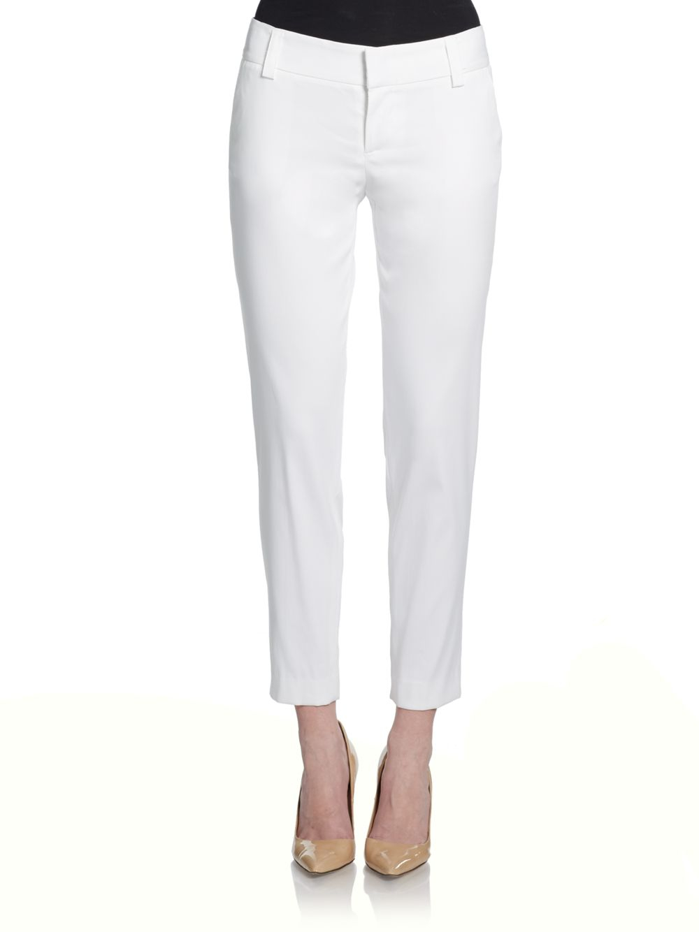 white pencil pants - Pi Pants
