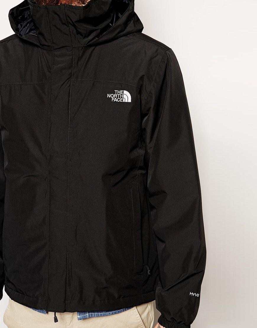 the north face resolve insulated jacket in black for men. Black Bedroom Furniture Sets. Home Design Ideas