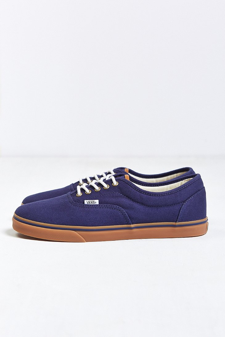 36c39b64b6b97 Vans Blue Lpe Gum-Sole Sneaker for men