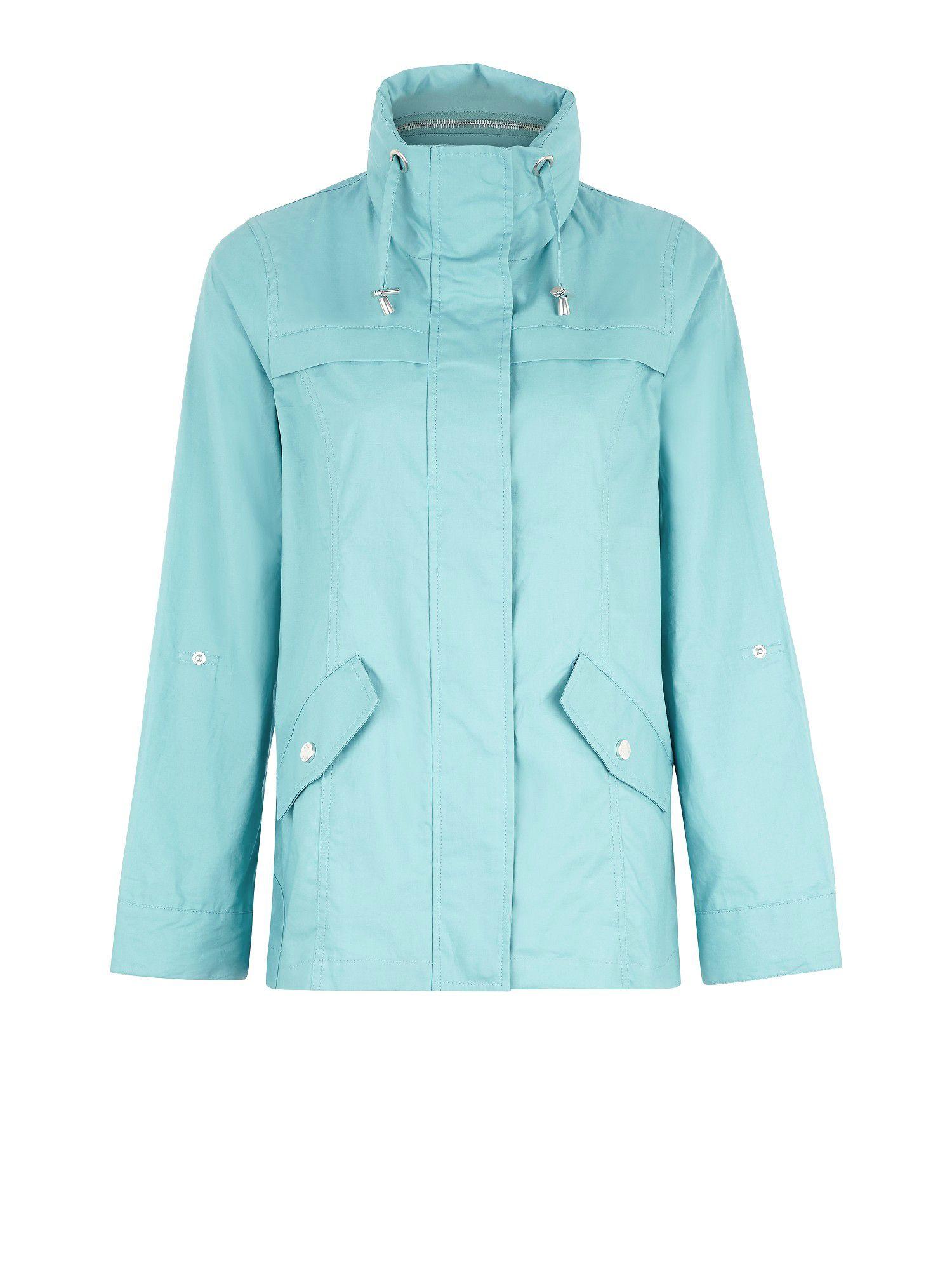 Lyst Dash Swing Showerproof Jacket In Green