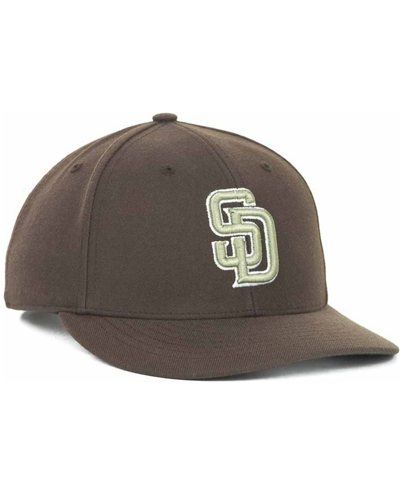 1b783671f471a Lyst - 47 Brand San Diego Padres Mvp Cap in Brown for Men