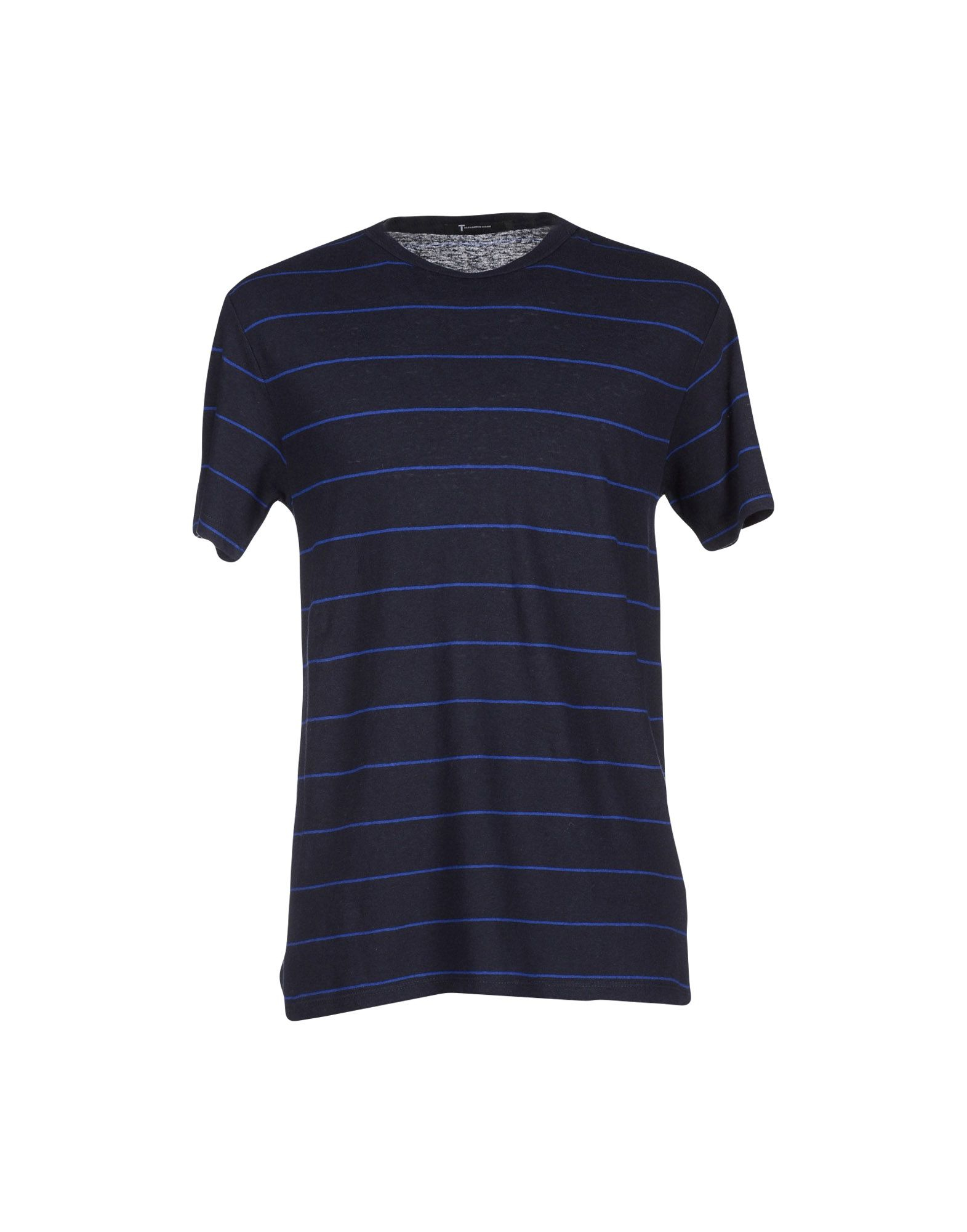 T by alexander wang t shirt in blue for men lyst for T by alexander wang t shirt