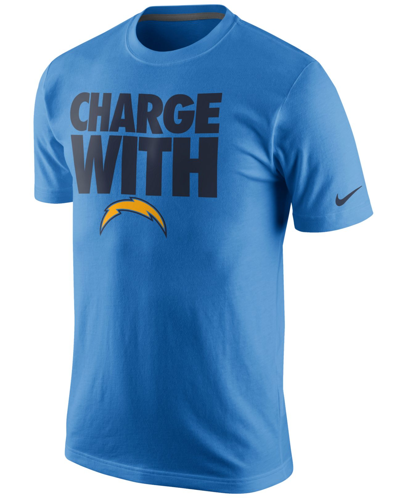 San Diego Chargers Clothing: Nike Men's San Diego Chargers Team Spirit T-shirt In Blue