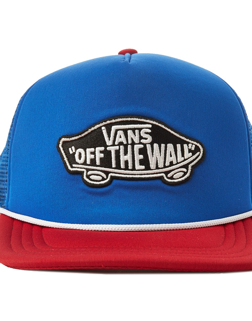 77335b6174b Lyst - Vans Trucker Cap Blue Red - Multi - Multi for Men