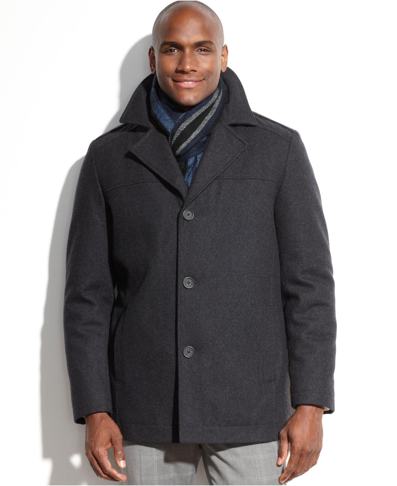 Mens fashion wool coat 99