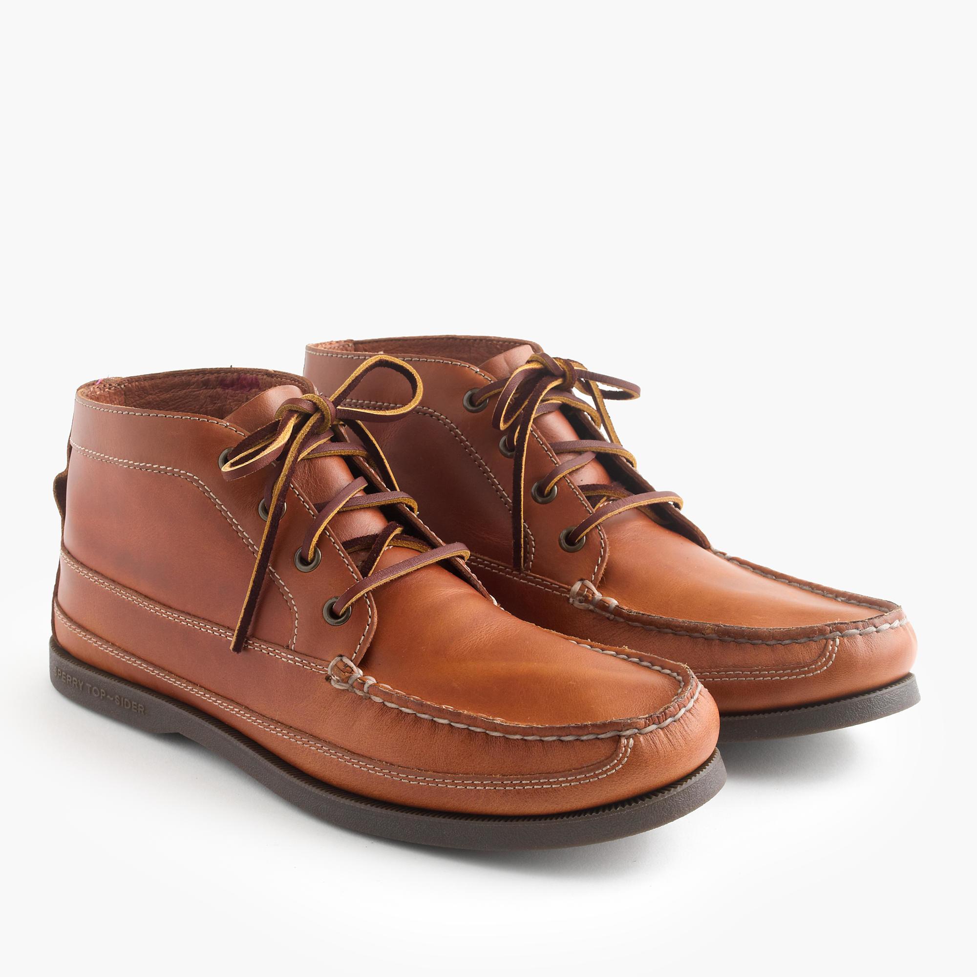 Creative Sperry Top-Sider A/O Lug Chukka Waterproof Leather Boots | Wooki