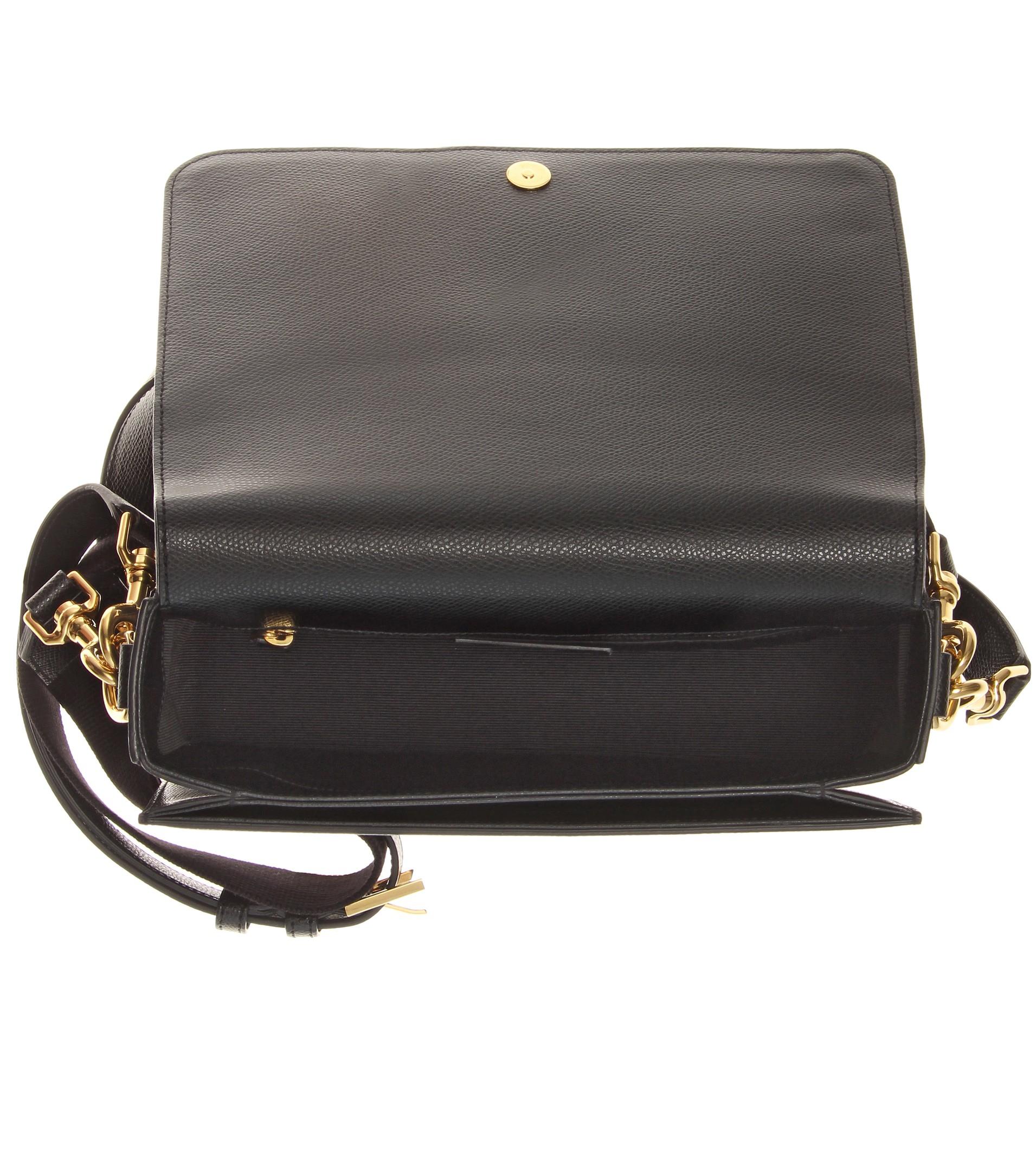 belle de jour bag - monogram small universite satchel bag, black