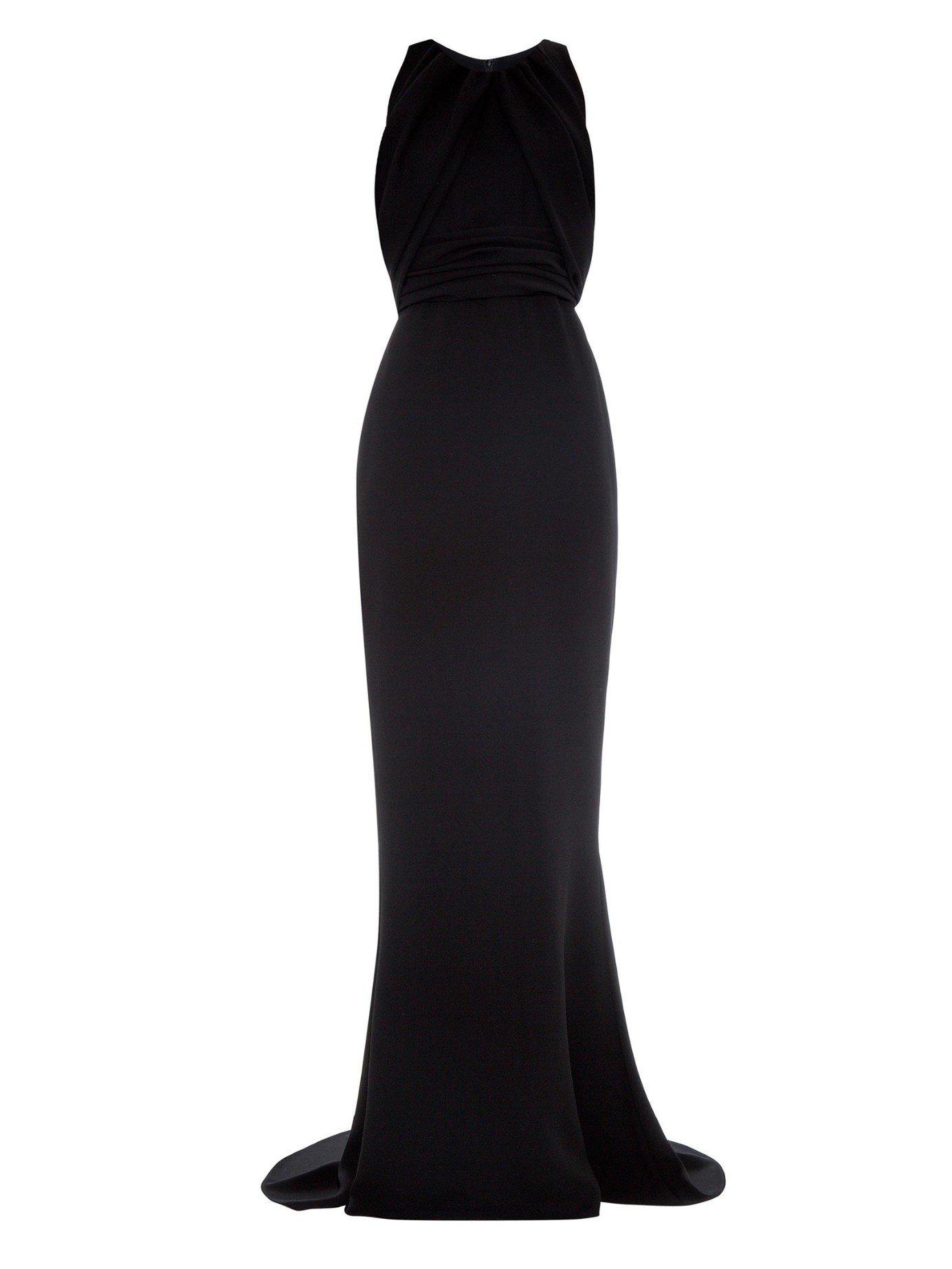 3370a984262 Max Mara Long Black Dress – Little Black Dress