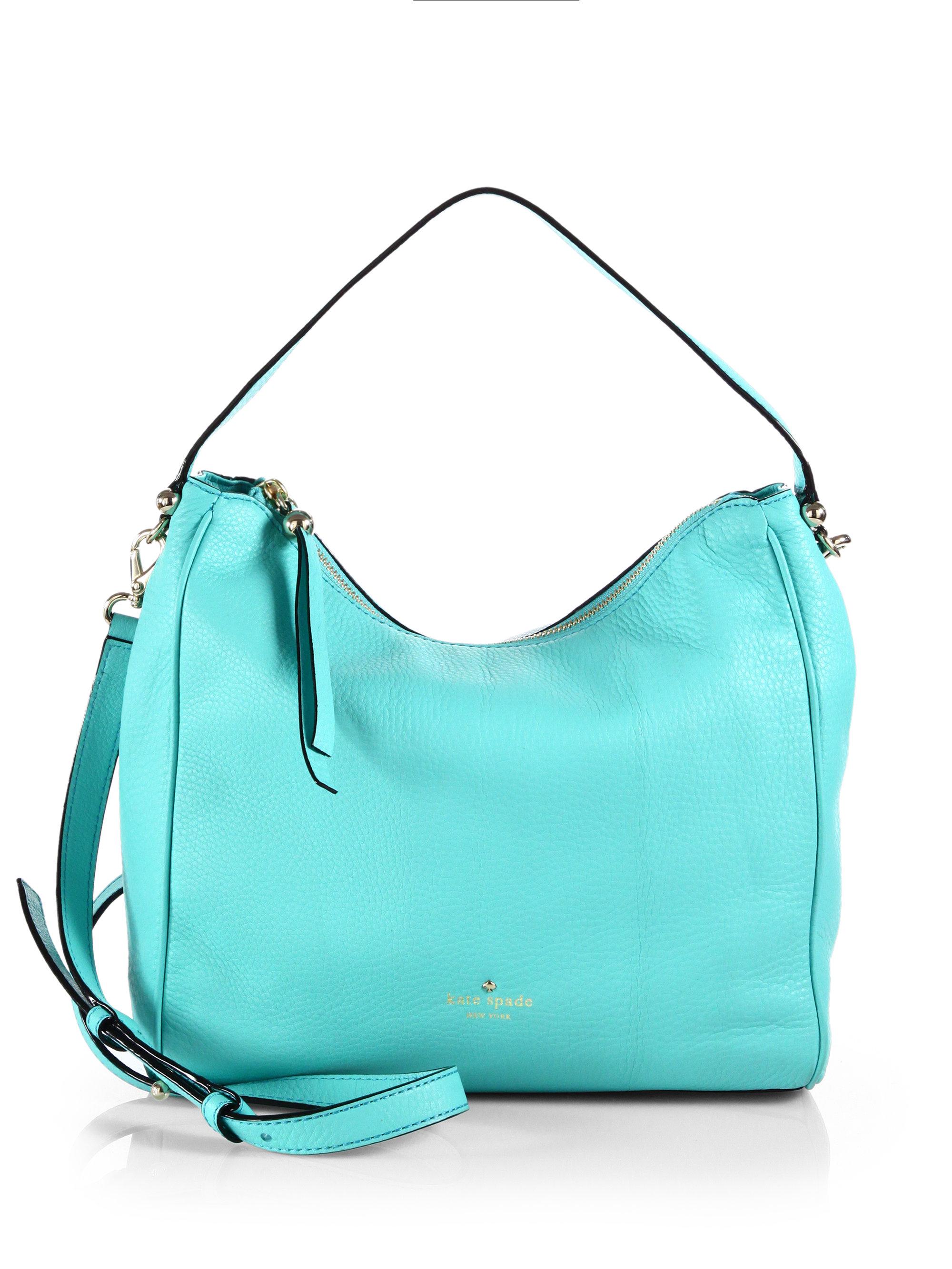 Lyst - Kate Spade Charles Street Haven Shoulder Bag in Black 9bc09d61d9dc4