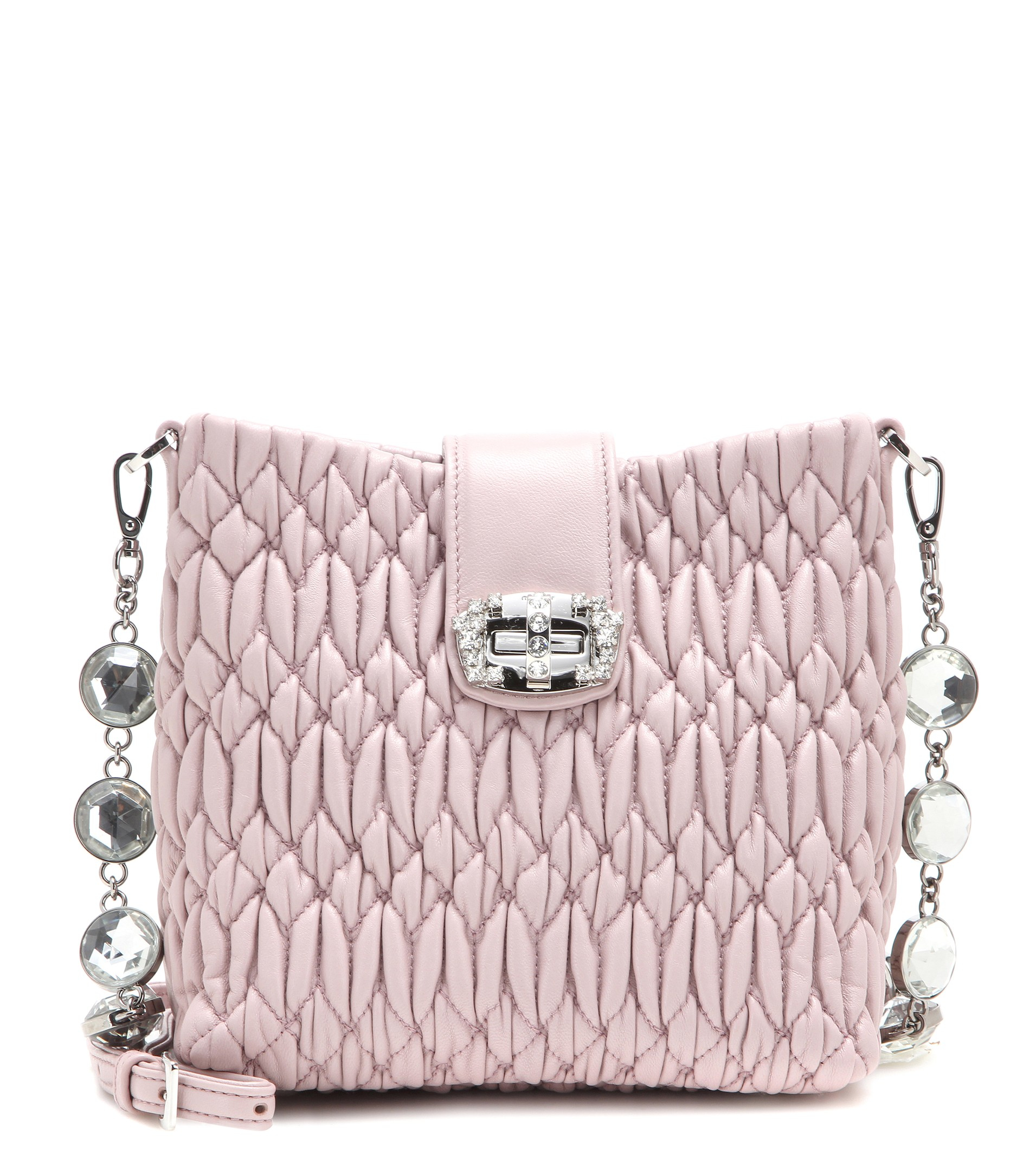 Recommend For Sale Miu Miu crystal fringed shoulder bag Red Pre Order Eastbay Low Price Fee Shipping NSz07