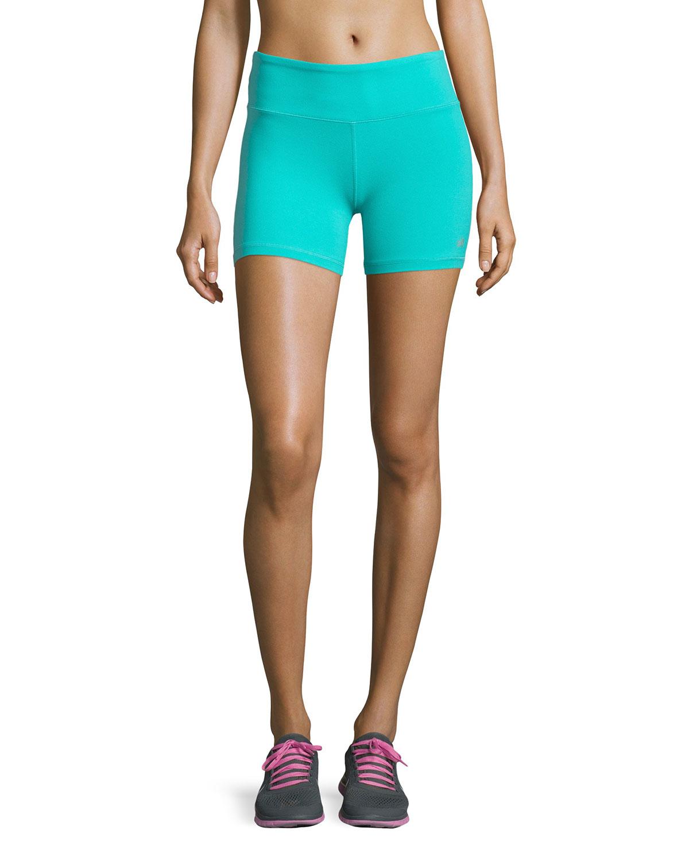 Alo Yoga Burn Performance Shorts In Blue
