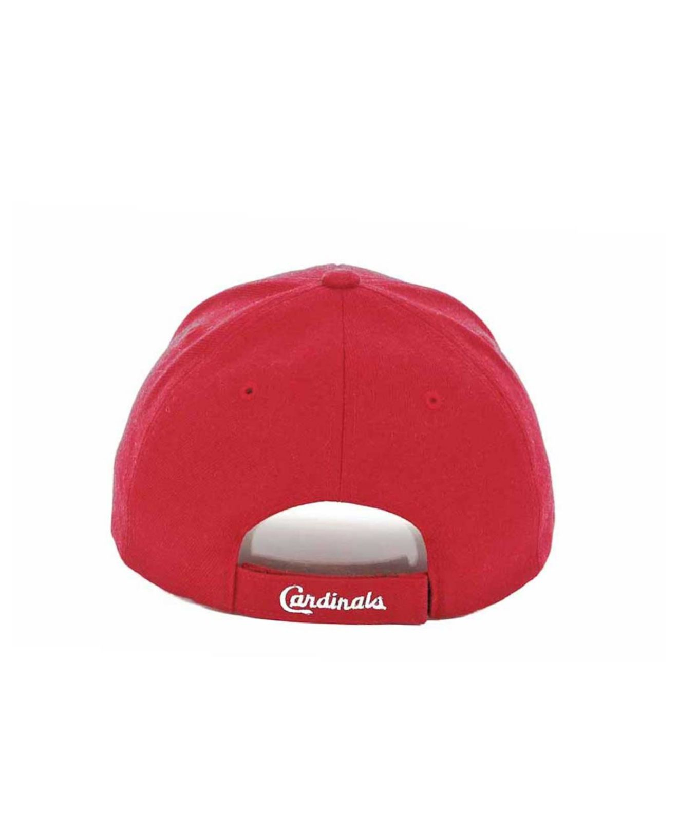 f7ba72aa7806f 47 Brand St. Louis Cardinals Mvp Curved Cap in Red for Men - Lyst
