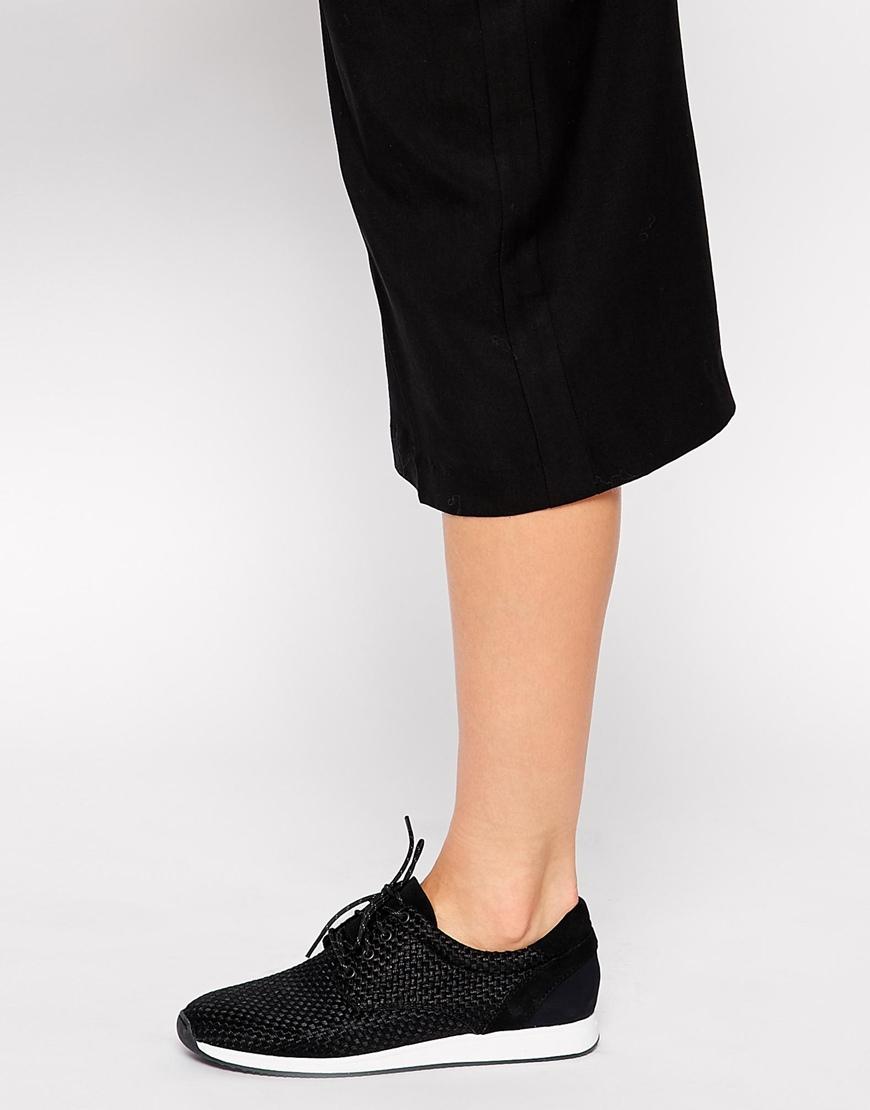65ab3441786 Lyst - Vagabond Kasai Black Textile Lo Trainers in Black