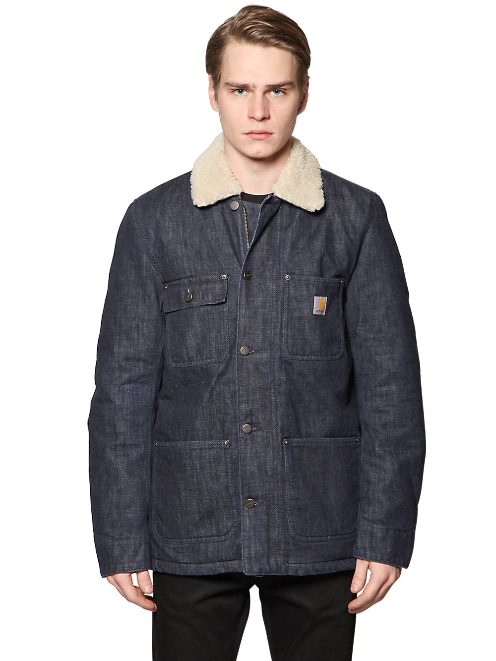Lyst - Carhartt Phoenix Cotton Denim Jacket in Blue for Men