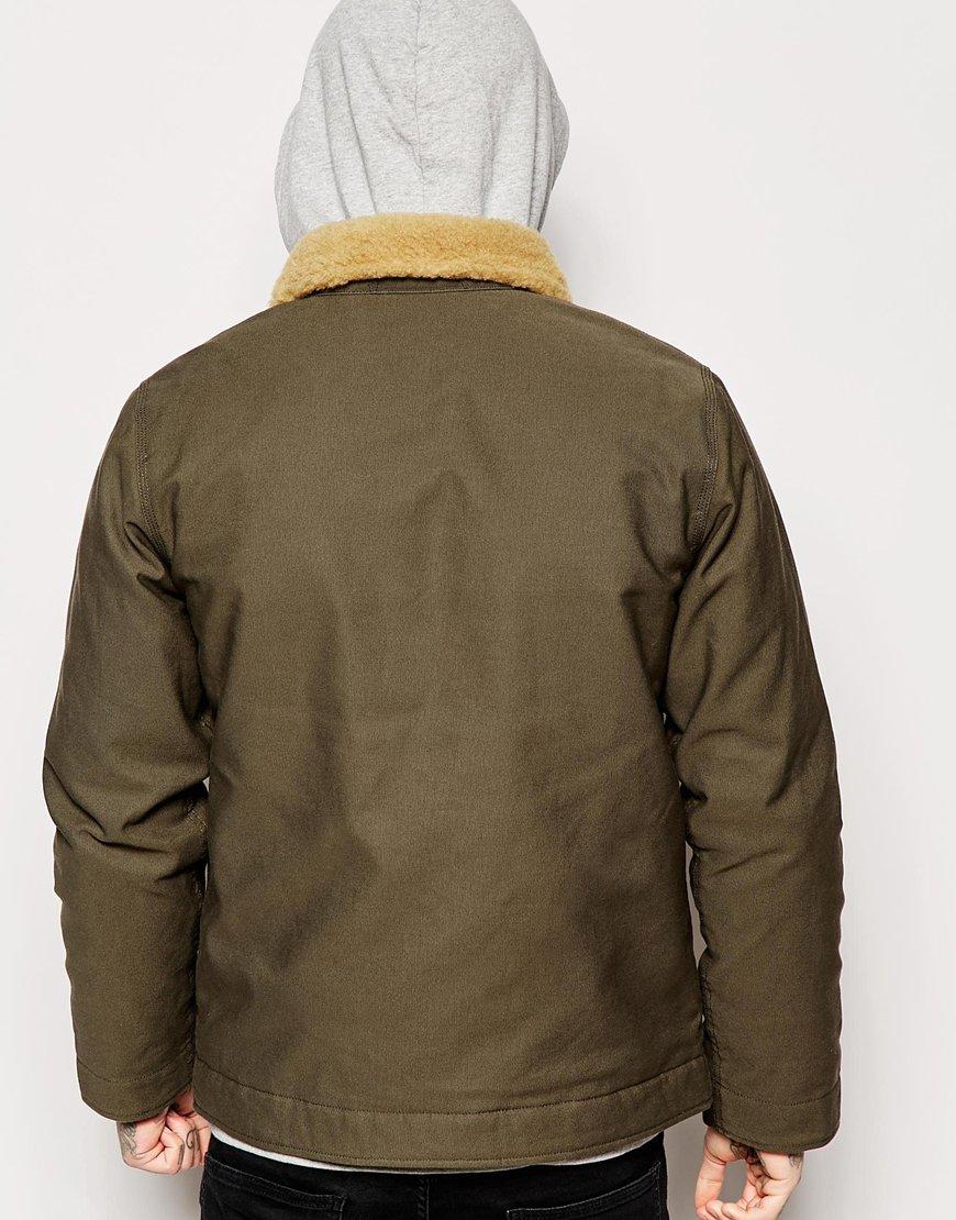 Lyst Carhartt Sheffield Jacket In Green For Men