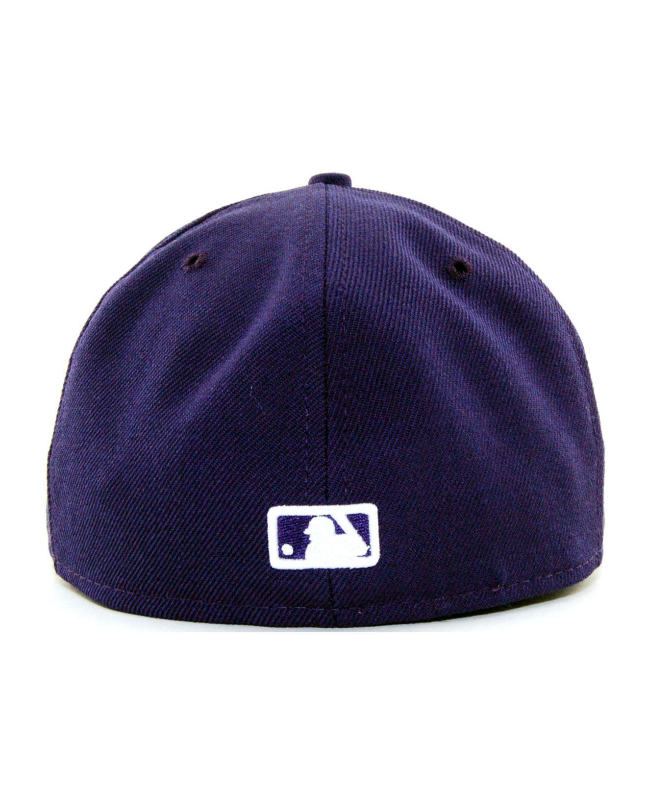 size 40 38ea8 93238 ... sweden lyst ktz chicago white sox c dub 59fifty cap in purple for men  bd073 6baed