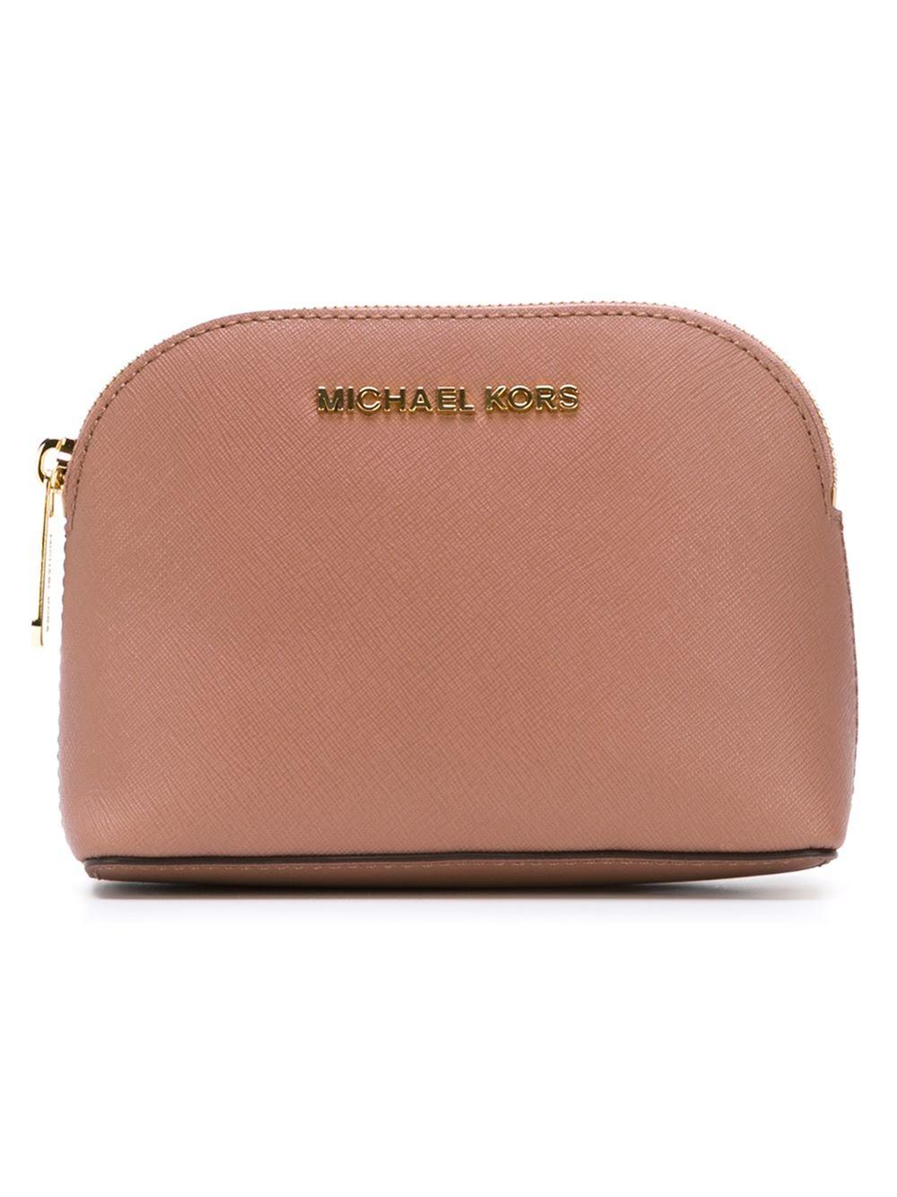 MICHAEL Michael Kors 'cindy' Makeup Bag in Pink & Purple ...