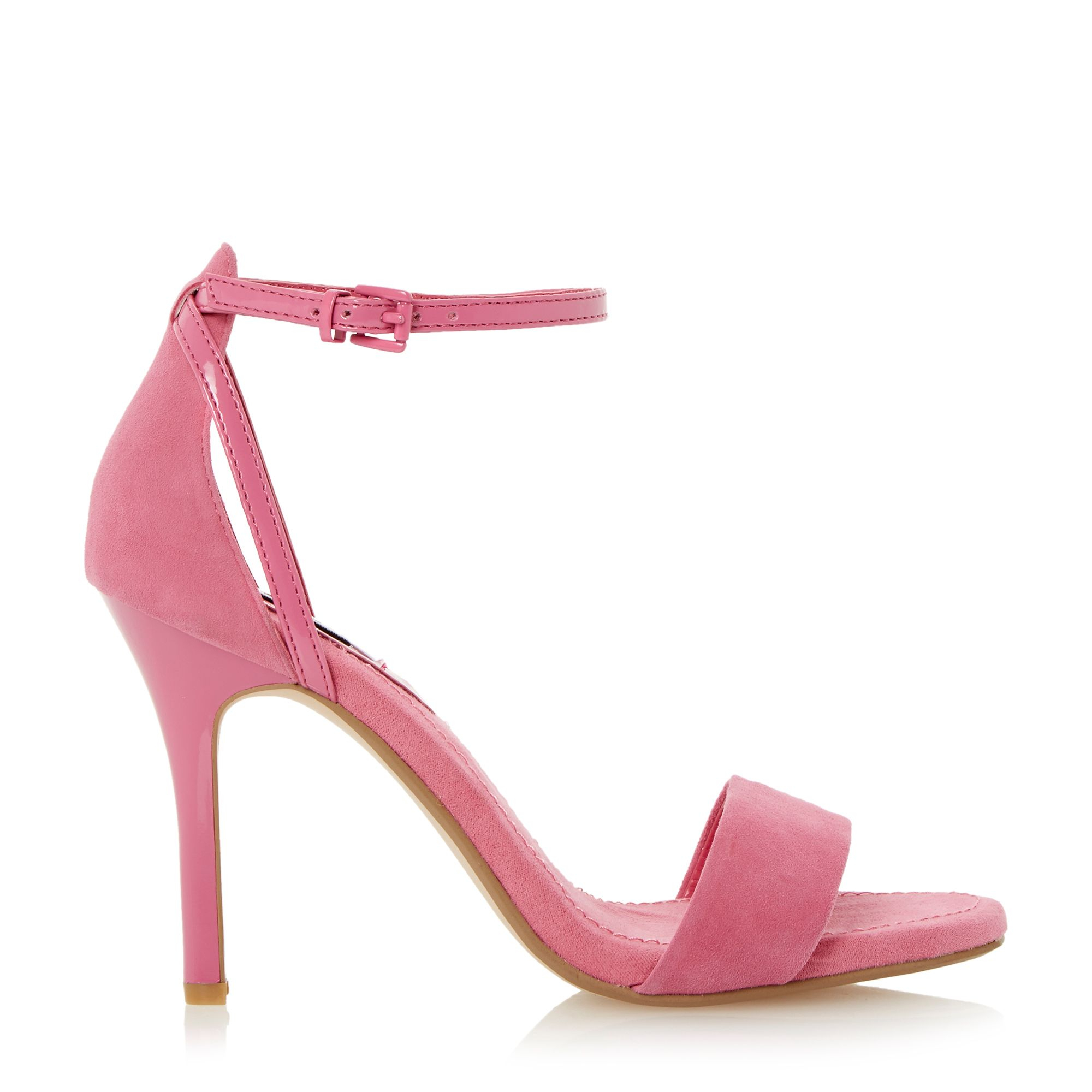 dune madeira two part sandals in pink lyst