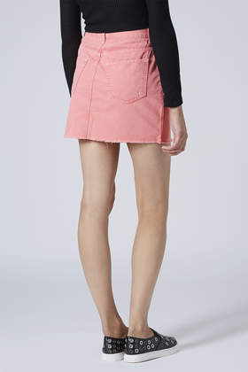 Pink Jean Skirt - Dress Ala