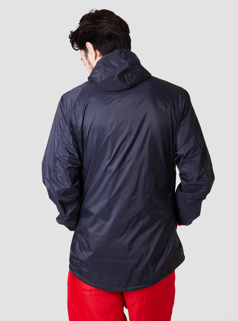 Relwen Cycling Shell Wind Runner Midnight In Blue For Men