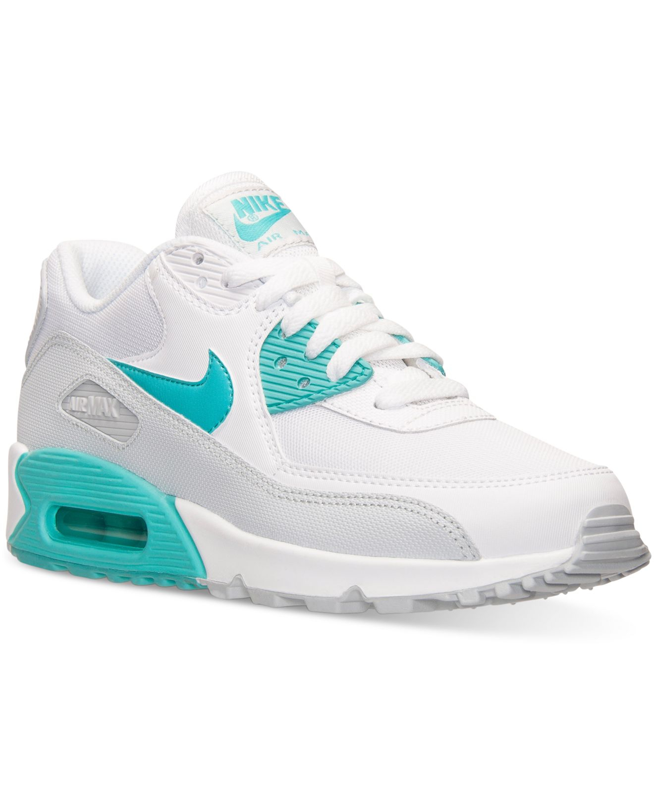 Lyst - Nike Women s Air Max 90 Essential Running Sneakers From Finish Line  in White 15a6c1b8cd