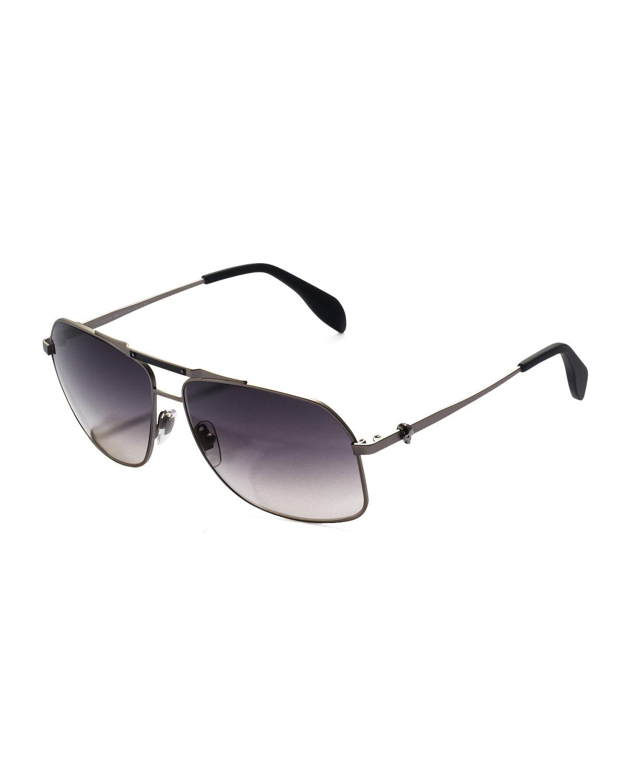 72078b7a95 Purple Male Aviator Sunglasses