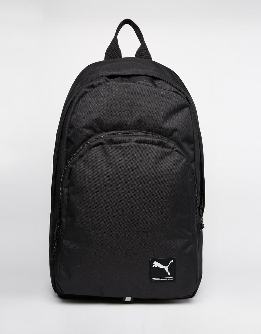 Lyst - PUMA Academy Backpack in Black for Men d886b0492af2c