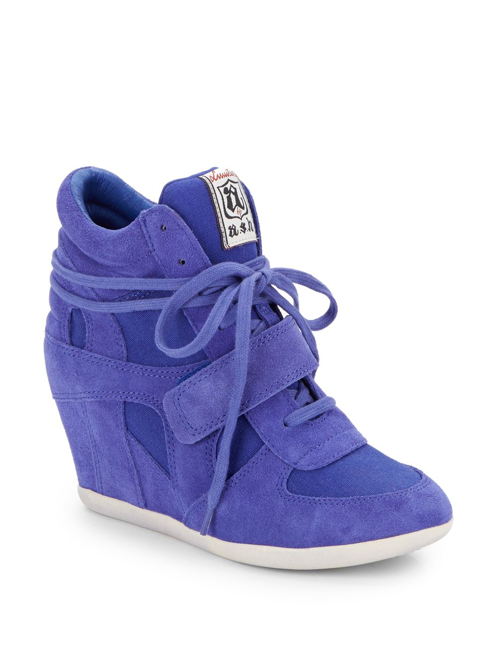 Sapphire Blue Wedge Shoes