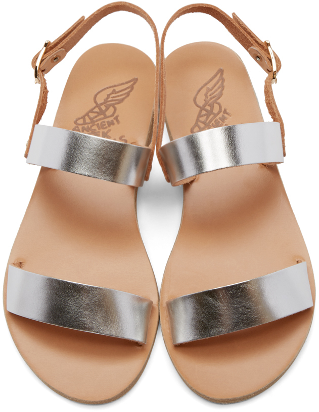 Ancient Greek Sandals Gold Metallic Clio Leather Sandals outlet hot sale 4ZAP73FO4